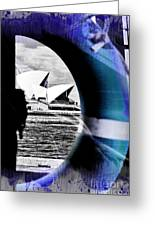 Opera House Rescue Greeting Card