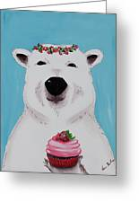 Ophelia The Polar Bear  Greeting Card