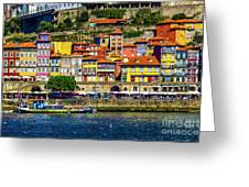 Oporto By The River Greeting Card