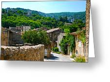 Oppede France - Street View Greeting Card