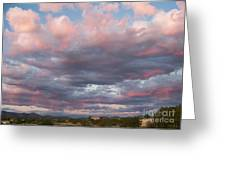 Opposite The Setting Sun Greeting Card