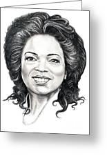 Oprah Winfrey  Greeting Card