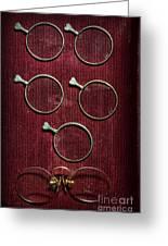 Optician - Optometrist Lens Greeting Card