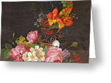Opulent Still Life Greeting Card