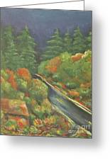 Or 18 W Greeting Card by Chaline Ouellet
