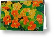 Orange And Yellow Days Greeting Card