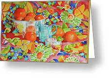 Orange Appeal Greeting Card