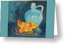 Orange Complement Greeting Card