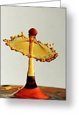 Orange Crown 9 Greeting Card
