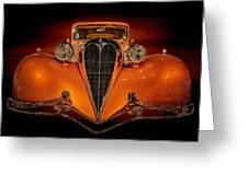 Orange Dream Greeting Card by Susan Rissi Tregoning