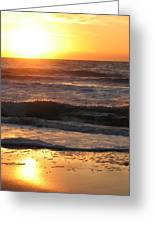 Orange Morning  Greeting Card
