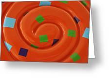 Orange Overload Greeting Card