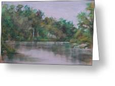 Orange River Greeting Card