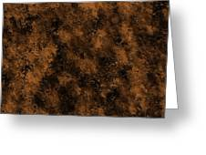 Orange Textures 001 Greeting Card