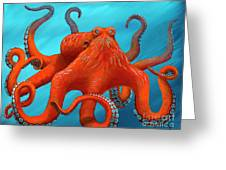 Orange-u-gr-8 Greeting Card