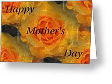Orange You Lovely Mothers Day Greeting Card