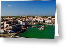 Oranjestad Aruba Greeting Card