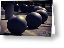 Orbital Design Greeting Card
