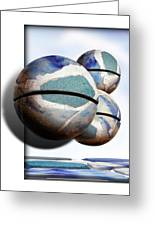 Orbiting Out Greeting Card
