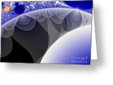 Orbs And Atmospheres Greeting Card