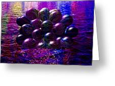 Orbs In The Water Greeting Card