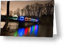 Orbs On Osceola Bridge Greeting Card