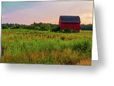 Orchard Evening Greeting Card