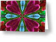Orchid Frenzy Greeting Card