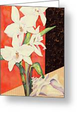 Orchid Medley Greeting Card