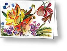 Orchid No. 30 Greeting Card