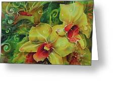 Orchid Series 11 Greeting Card