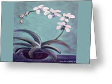 Orchids 5 Greeting Card