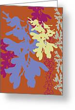 Orchids Caramel Greeting Card