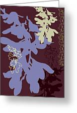 Orchids Cocoa-lavender  Greeting Card