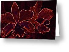 Orchids - For Pele Greeting Card