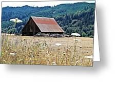 Oregon Barn Greeting Card
