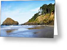 Oregon - Beach Life Greeting Card