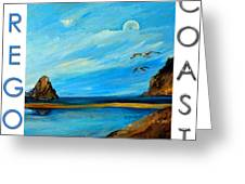 Oregon Coast Graphics Greeting Card