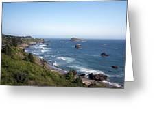 Oregon Coastline Greeting Card