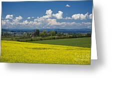 Oregon Countryside Greeting Card