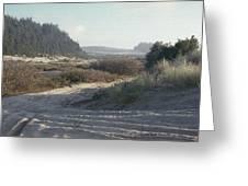 Oregon Dunes 5 Greeting Card