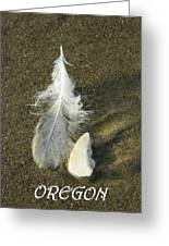 Oregon Feather Greeting Card