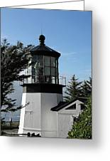 Oregon Lighthouses - Cape Meares Lighthouse Greeting Card