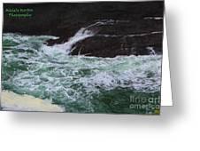 Oregon Ocean Pool Greeting Card