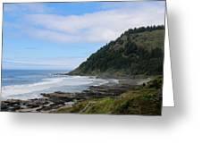 Oregon Ocean View - 6 Greeting Card
