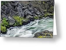 Oregon's Dillon Falls Greeting Card