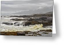 Oregon's Rugged Coast Greeting Card by Dick Wood