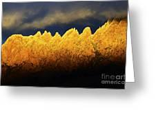 Organ Mountains Land Of Enchantment 1 Greeting Card