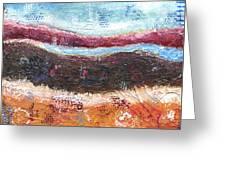Organic Abstract Greeting Card