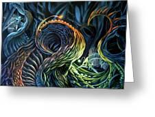 Organic Underworld Greeting Card